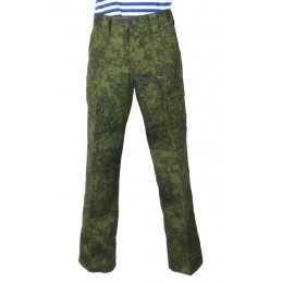 "Pants for summer uniform VKBO - Digital Flora, ""Fir"""