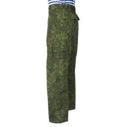 """Spodnie munduru letniego WKBO - Cyfrowa Flora, """"Jodełka"""""""