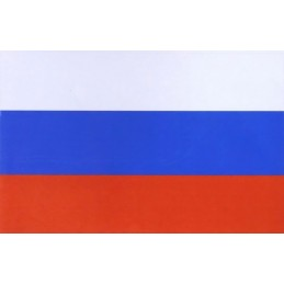 "Sticker ""Russian Flag - 90x140 mm"""