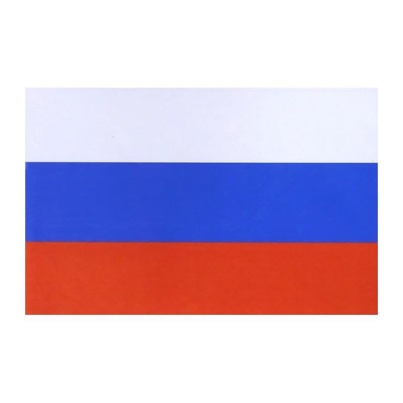 "Naklejka ""Flaga Rosji - 90x140mm"""
