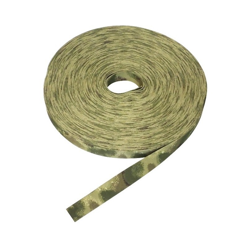Load-bearing tape Green Atak 25 mm