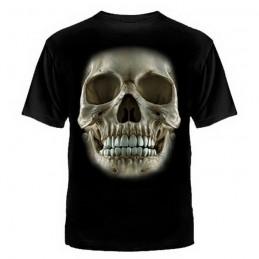 "T-shirt ""Czaszka"", czarny"