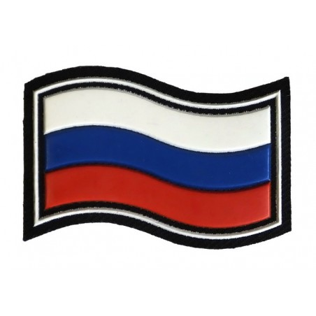 """Russian Flag"" patch, wave"