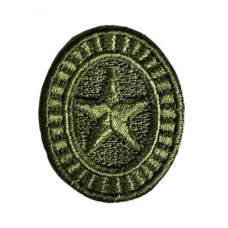 Kokarda Sił Zbrojnych - szeregowcy, polowa, haftowana