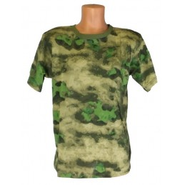 "T-shirt in camouflage ""Green Atak"""