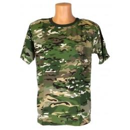 """T-shirt w kamuflażu """"Multikam"""""""