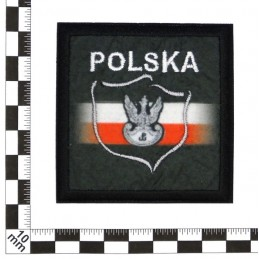 Polish with white eagle - patch with thermotransfer