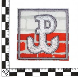 Poland Fighting - square - patch with thermotransfer