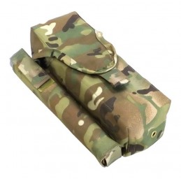 TI-P-2AK-ROPNP Pouch for 2 AK magazines, signal flare and knife, right, Multikam
