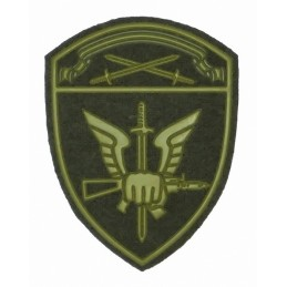 """Spetsnaz of Rosgvardia North-Western MD"" patch, slaked"