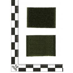 Patki Wojsk Inżynieryjnych, na rzepie, polowe, tło Cyfrowa Flora, wyszywane