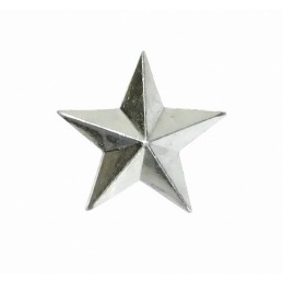 Large stars on the epaulets, senior officers, modern, silver