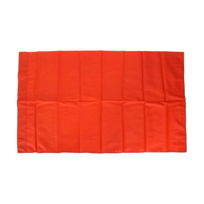 Czerwona flaga - PZPR, nylonowa, 95x58cm