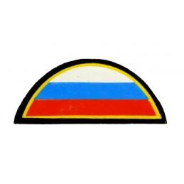 Naszywka na ramię - łuk z flagą, na rzepie