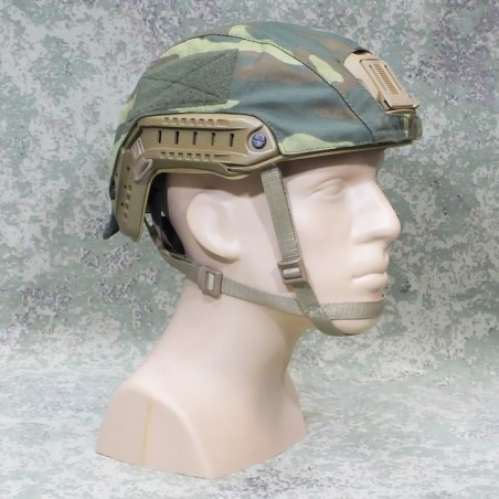 RZ Cover for helmet FAST in Flora camouflage