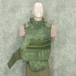 RZ Bulletproof vest 6B23-1 in Digital Flora camouflage - replica