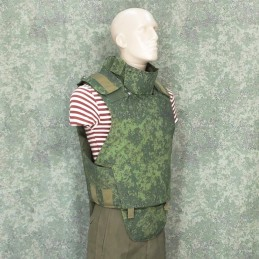 RZ Bulletproof vest 6B23-1 in Digital Flora camouflage - replica