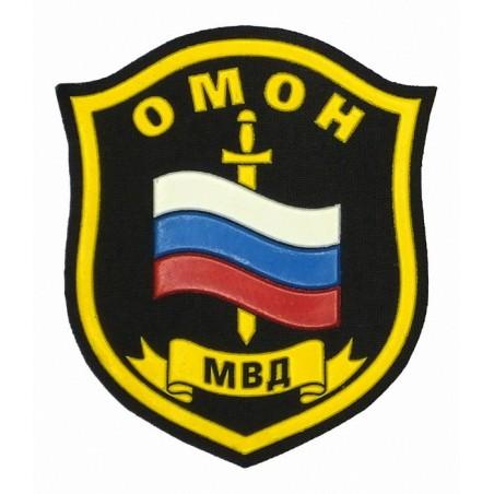 "Stripe ""OMON MVD"", on shoulder"