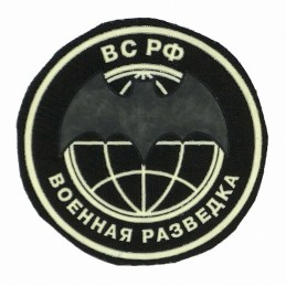"""Combat Recon"" patch, black background"