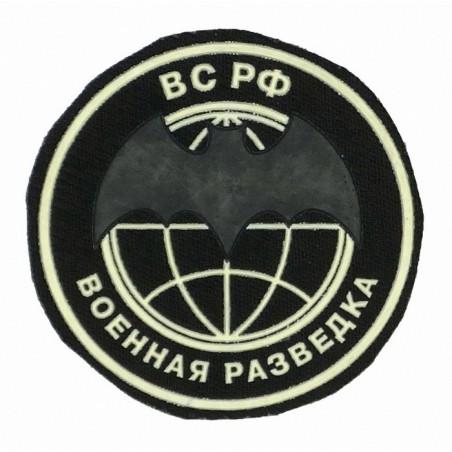 """Combat Recon"" patch, black background"