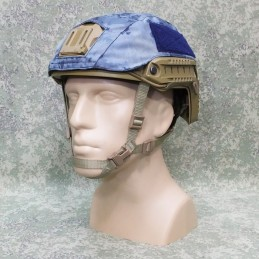 RZ Cover for helmet FAST in Blue Atak camouflage