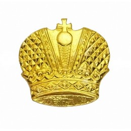 """Cossacks"" - crown - branch insignia, gold"