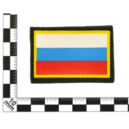 Patch on the sleeve - flag of Russia, with velcro