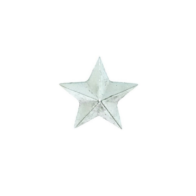 Small stars on the epaulets, junior and non-commissioned officers, modern, silver