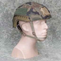 RZ Cover for helmet FAST in WZ93 (Poland) camouflage