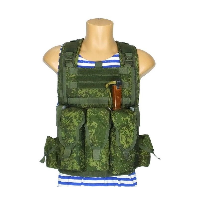 """TI-N-B-MAK Kamizelka NBM, zestaw """"Strzelec AK"""", Cyfrowa Flora"""