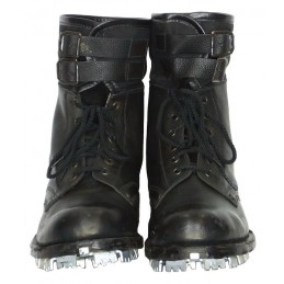 Boots for Mountain Troops and Spetsnaz, with crampons