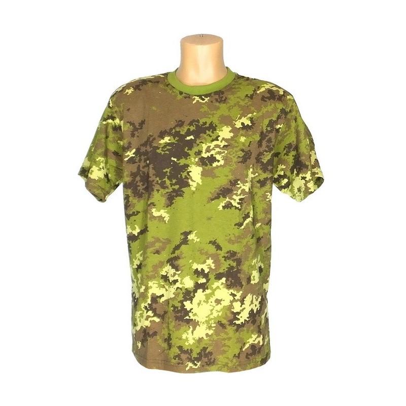 "T-shirt w kamuflażu ""Vegetato"""