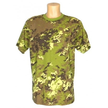 "T-shirt in camouflage ""Vegetato"""