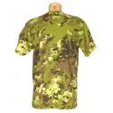 "T-shirt in camouflage ""Vegetato"""