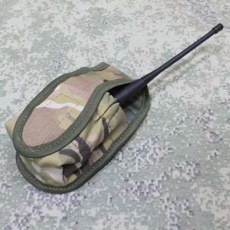 Flask with cover