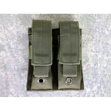 RZ Pouch for 2 pistol magazines, MOLLE, Olive