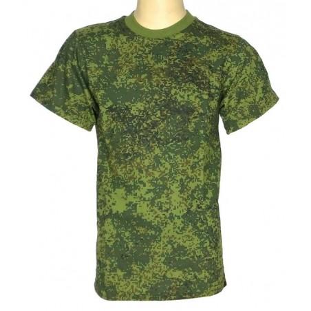 """Children's T-shirt in camouflage """"Digital Flora"""""""