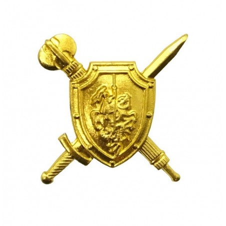 """Military Police"" branch insignia, gold"