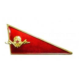 Szewron na beret WDW, czerwony