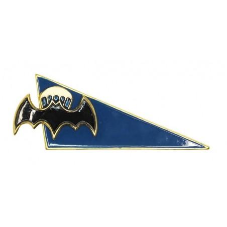 Szewron na beret Zwiadu, nietoperz ze spadochronem, błękitne tło
