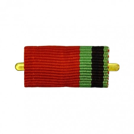 "Ribbon of medal ""XX years of the Victory in the Great Fatherland War 1941-1945"""
