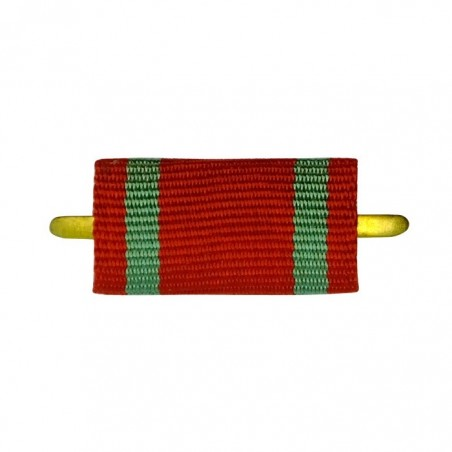 """Ribbon of medal """"For the exemplary military service"""""""