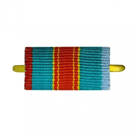 """Ribbon of medal """"To the 1500 anniversary of Kiev"""""""