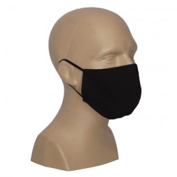 Protective face mask, black