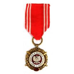 """Medal """"Siły Zbrojne w Służbie Ojczyzny - V"""" brązowy"""