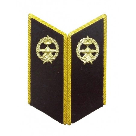 Collar tabs of Pipeline Troops for official uniforms with tabs