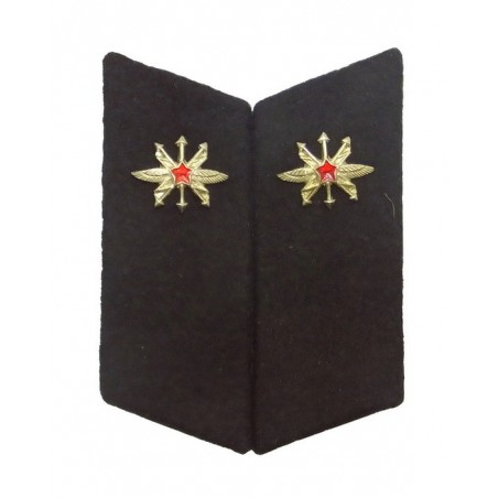 Collar tabs of Contact Troops for ordinary uniforms, with tabs