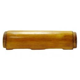 Górna drewniana okładka...