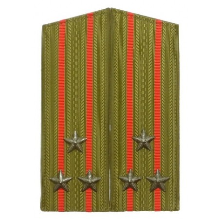 Epaulettes of the colonel of Ground Forces, for field uniform