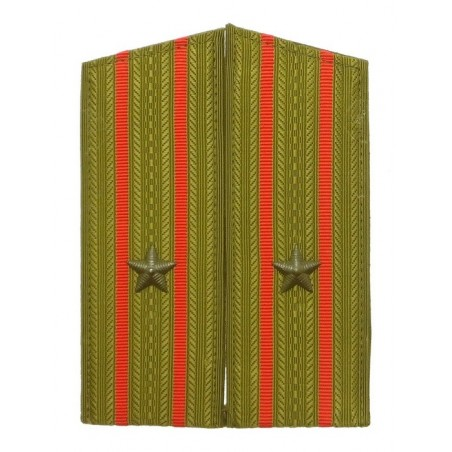 Epaulettes of the major of Ground Forces, for field uniform